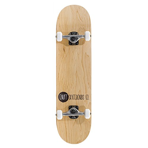 Enuff 2014 Logo Stain Skateboard - Natural ENU3510