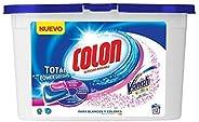 Colon Total Power Gel Caps Vanish - Detergente para Lavadora con agentes quitamanchas, Formato Cápsulas - 12 d