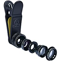 Apexel Deluxe Universale 5 in 1 Kit Lenti Fotocamera per