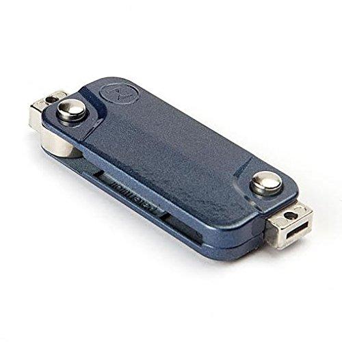 Keyzone Zagana dual blue flip key for bikes (Made in Istanbul) (1.00)