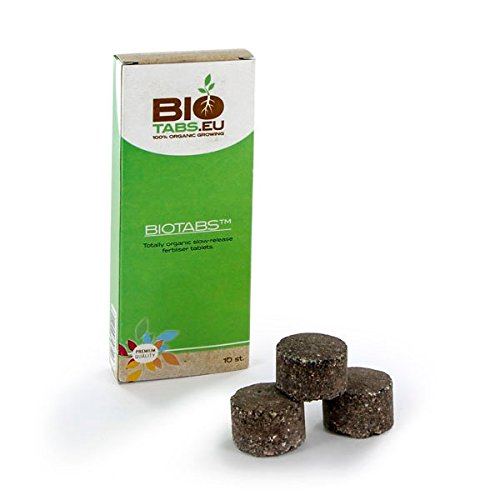 10x Tablettes de Additif / Engrais 100% Organique NPK BioTabs