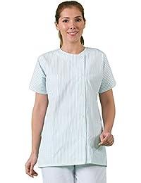 Label blouse Tunique médicale et soins à domicile Manches courtes tissus 210 gr Lavage machine
