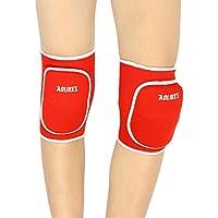 L Y Liying Knieschoner Kniebandage Knieschützer Schoner Proteckor Indoor für Kinder Schwarz Rot Grau Rose