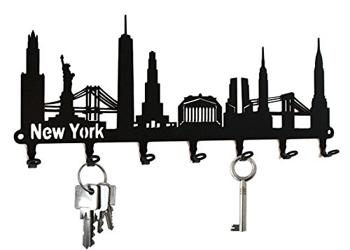 schlusselbrett-hakenleiste-skyline-new-york-schlusselboard-usa-schlusselleiste-metall-7-haken