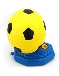 Bazaar Niños deportivas ayuda a la formación entrenador de fútbol fútbol juego reflejo de los juguetes del bebé de fútbol