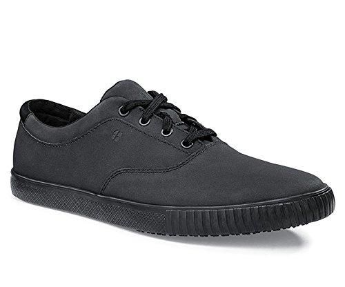Schuhe für Crews 38664-47/12Stil Carter Herren Rutschfeste Casual Trainer, Größe 12, Schwarz Carters Top