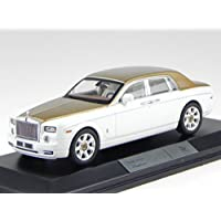 Rolls Royce Ghost hell-blau//silber Modellauto LHD Fertigmodell IXO 1:43