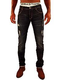 Jeans style Usé Falk Sebastiano