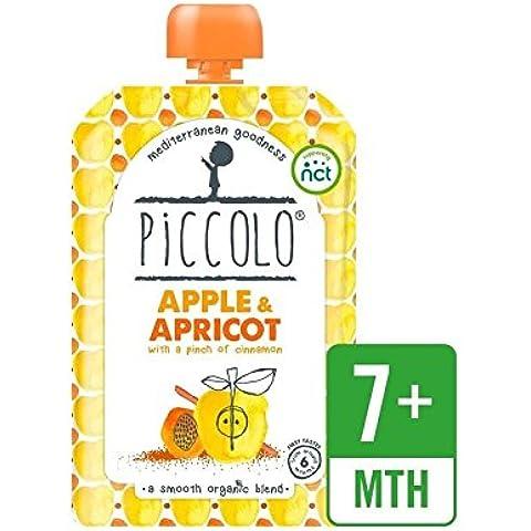 Piccolo Manzana Orgánica Y Albaricoque Con Un Toque De Canela 100G - Paquete de 6