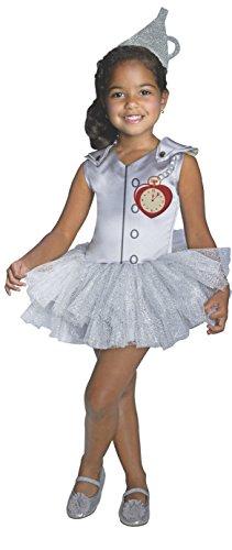 75th Anniversary Tin Man Tutu Dress Costume, Child Medium by Rubies (Tin Man Kostüm Zauberer Von Oz)
