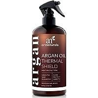 Spruzzo di Artnaturals termico per la protezione dei capelli – 227 g – Spray protettivo contro calore ferro piano – contiene olio di argan biologico per prevenire danni e doppie punte – Made in USA – senza solf