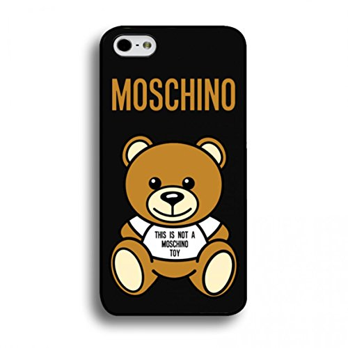 BennyWu Cool Moschino Custodia Moschino-Custodia Posteriore Protettiva per  iPhone 6 Plus 6S 77bb7b19ab8