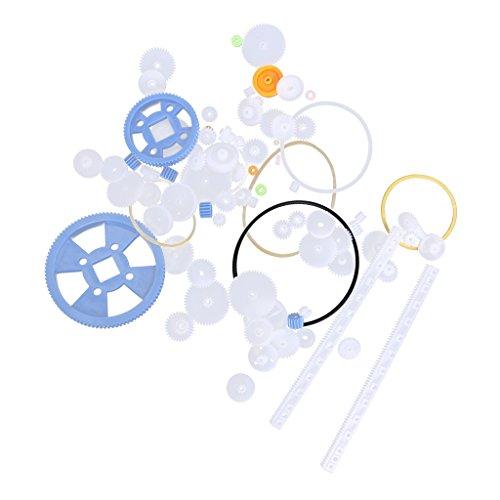 MagiDeal Kunststoff DIY Zahnräder Schneckenräder Schneckenräder Zahnstange Schneckenantriebe