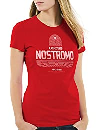 style3 USCSS Nostromo 180286 T-Shirt Femme xénomorphe alien