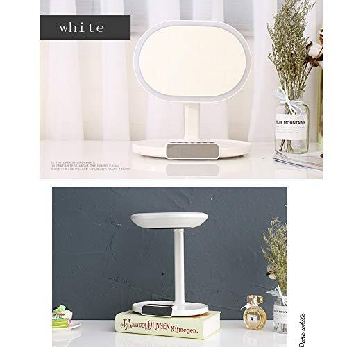 Multifunktions-Schminkspiegel Desktop Lampe Schminkspiegel Desktop LED Licht tragbare Make-up-A2