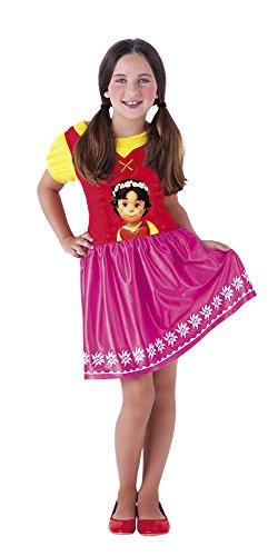 Vestito di heidi per bambina 5 a 7 anni