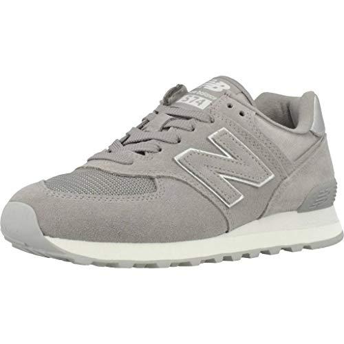 New Balance 574 Sateen Tab, Zapatillas para Mujer, Gris (Grey Ms), 37 EU