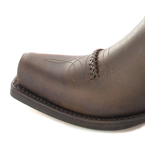 Sendra Boots 3434 Sprinter Negro/ Damen und Herren Bikerstiefel Schwarz/ Herrenstiefel/ Damenstiefel/ Westernstiefel Tang