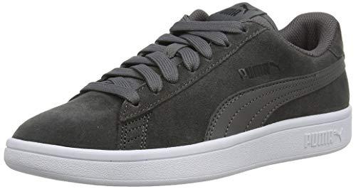 Puma Puma Smash v2, Unisex-Erwachsene Sneakers, Grau (Castlerock-Puma Black-Puma White 32), 47 EU