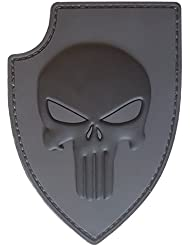 ACU Gray PVC 3D Gomme Punisher Crâne USA Sealteam DEVGRU Glow Dark Hook-and-Loop Écusson Patch