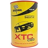 BARDAHL XTC C60 SAE 10W40 Lubrificanti Auto Olio Motore Benzina Diesel 1 LT