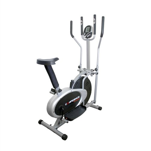 Confidence Pro 2-in-1 Cross Trainer - Black