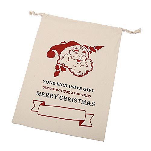 10 pcs Bolsa De Regalo De Navidad
