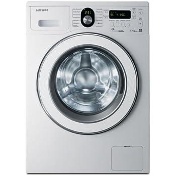 Samsung WF-8714 Waschmaschine / AAA / 1400 UpM / 7 kg / 2 Displays / Diamond Pflegetrommel / Silber Aktiv System / weiß