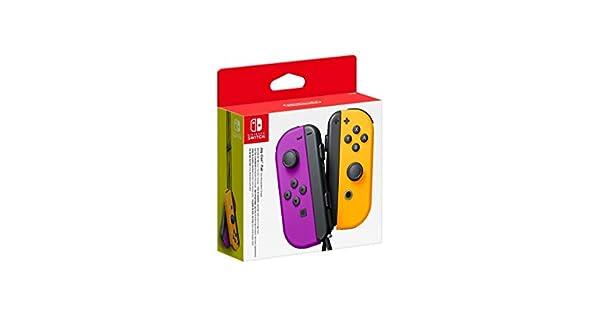 Nintendo Paire De Manettes Joy Con Gauche Violet Néondroite