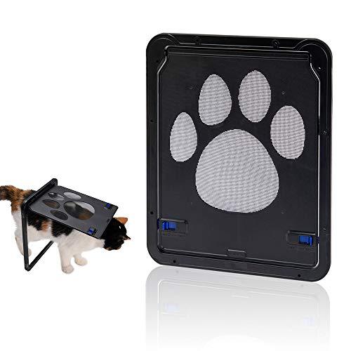 Hyindoor Puerta Perros Gatos Puerta Mosquitera Mascotas