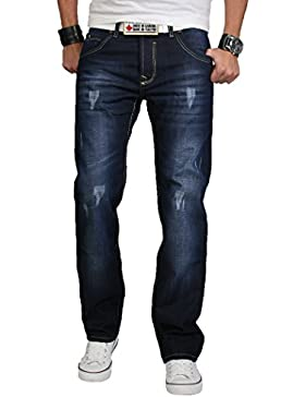 Rock Creek Herren Designer Jeans
