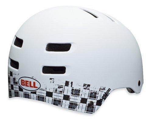 Bell Fahrradhelm FACTION 10, Matte White Plaid, L (59-63cm), 210027021