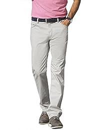 Hose 5-Pocket Schnitt Herren von redpoint in Farbe Stein