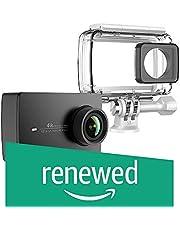 (Renewed) YI 4K Action Camera with Waterproof Case (Night Black)