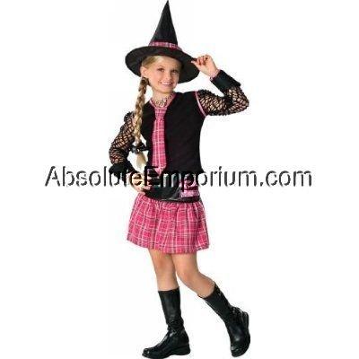 Halloween Kostüm Hexe Hexenkostüm USA-Style, Gr. S