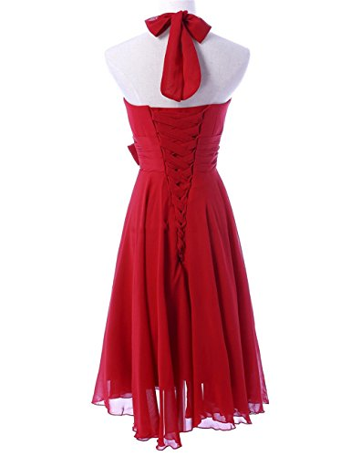 CoCogirls - Robe - Trapèze - Femme Rouge