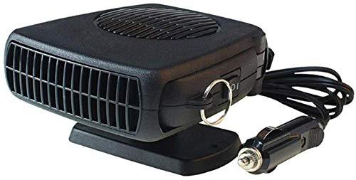 DZTIZI 12 V Auto Elektronische Heizung Fan Schnelle Heizung Abtauung 150 Watt Auto Heizung Stecker Einstellbarer Thermostat Im Zigarettenanzünder 2 In 1 Heizung/Kühlung Funktion -