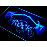 ADV PRO i047-b Guitar Rock n Roll Neon Light Sign Barlicht Neonlicht Lichtwerbung