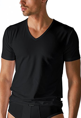 Mey Basics Serie Dry Cotton Herren Shirts 1/2 Arm Schwarz 4 - Iv Arm