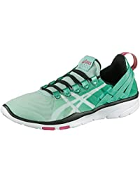 Asics Gel-fit Sana Women's Trainers - Mint/White/Black - S465N-7001