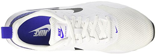 Nike Herren Air Max Tavas Laufschuhe Weiß (White/Black-Paramount Blue)