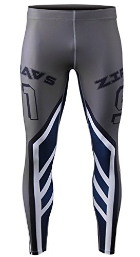 Zipravs Herren Damen Unterwäsche KompressionHose Compression Long Tights ZFCP-65