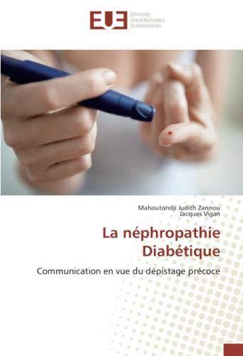 La néphropathie Diabétique par Mahoutondji Judith Zannou