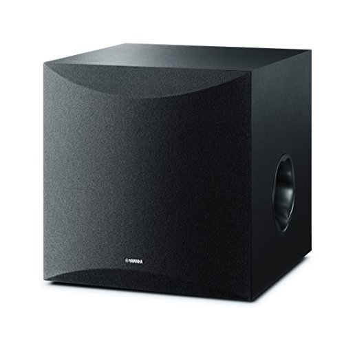 Yamaha NS-SW100 - Altavoz subwoofer amplificado (25 - 180 Hz) color negro