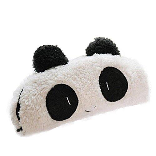 Fulltime® Cute Panda peluche douce Pen Pocket Maquillage Cosmetic Zipper Sac pochette
