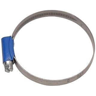 Aparoli 841513 Original ABA - Schlauchschelle, 50-70 mm, Schneckengewinde, Bandbreite 9 mm, VE: 10 Stück, blau