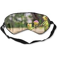 Eye Mask Eyeshade Frog Couples Sleeping Mask Blindfold Eyepatch Adjustable Head Strap preisvergleich bei billige-tabletten.eu