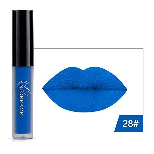 oween Stil Matt Liquid Flüssigkeit Wasserdicht Lipglosse Lipstick Lippenstift Konturenstifte (20g) ()