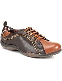 tZaro Cos Theta Genuine Leather Sporty Look Lifestyle Shoes