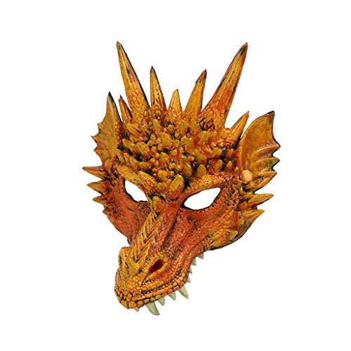 HEVÜY Halloween Maske Deluxe Spiel Cosplay Kostüm Replik für Erwachsene